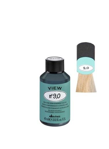 Davines Davines View Yarı Kalıcı Saç Boyası 9,0 Yogun Çok Açık Kumral 60 Ml Renksiz